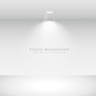 Fundo do estúdio com luz do ponto