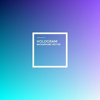 Fundo do gradiente de holograma