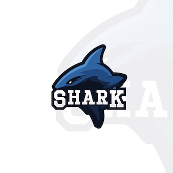 Fundo do logotipo do tubarão