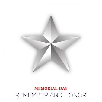Fundo do memorial day