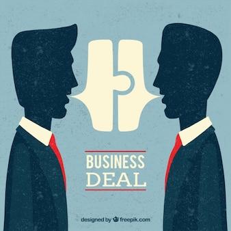 Fundo do negócio de negócio