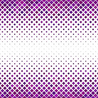 Fundo do padrão quadrado diagonal - gráfico vetorial geométrico a partir de quadrados tonificados roxos