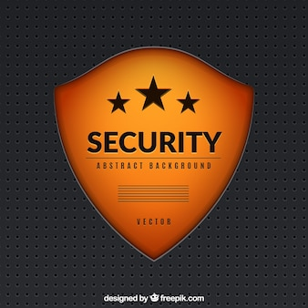 Fundo do protetor da segurança