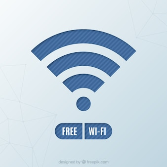 Fundo do símbolo wifi