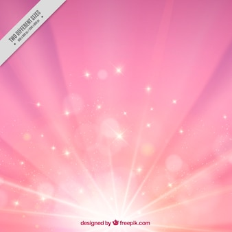 Fundo do sunburst rosa