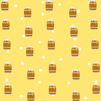 Fundo do teste padrão do mel