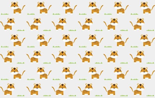 Fundo do teste padrão do tigre