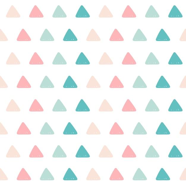 Fundo do teste padrão do triângulo.