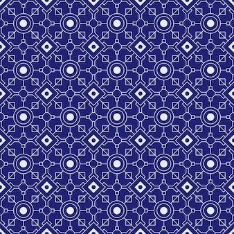 Fundo do teste padrão sem emenda do batik geométrico. papel de parede abstrato