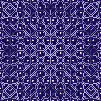 Fundo do teste padrão sem emenda do batik geométrico.
