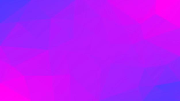 Fundo do triângulo horizontal abstrato do gradiente. cenário poligonal rosa e azul concurso para apresentação de negócios. banner abstrato geométrico na moda. folheto do conceito de tecnologia. estilo mosaico.