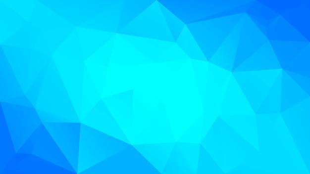 Fundo do triângulo horizontal abstrato do gradiente. cool gelo colorido cenário poligonal para apresentação de negócios. banner abstrato geométrico na moda. folheto do conceito de tecnologia. estilo mosaico.