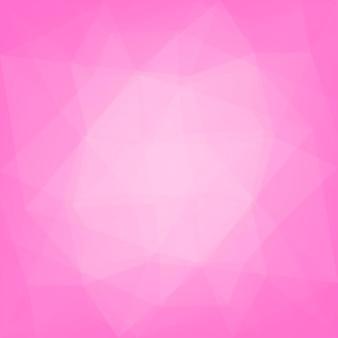 Fundo do triângulo quadrado abstrato do gradiente. cenário poligonal de rosa concurso rosa para web e aplicativos móveis. banner abstrato geométrico na moda. design de folheto corporativo. estilo mosaico.