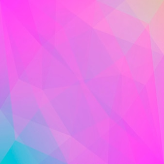 Fundo do triângulo quadrado abstrato do gradiente. cenário poligonal multicolorido de arco-íris vibrante para apresentação de negócios. banner abstrato geométrico na moda. design de folheto corporativo. estilo mosaico.