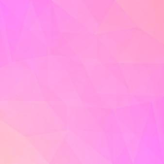 Fundo do triângulo quadrado abstrato do gradiente. cenário poligonal rosa concurso rosa para apresentação de negócios. banner abstrato geométrico na moda. design de folheto corporativo. estilo mosaico.