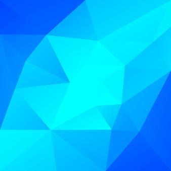 Fundo do triângulo quadrado abstrato do gradiente. cool gelo colorido cenário poligonal para apresentação de negócios. banner abstrato geométrico na moda. design de folheto corporativo. estilo mosaico.