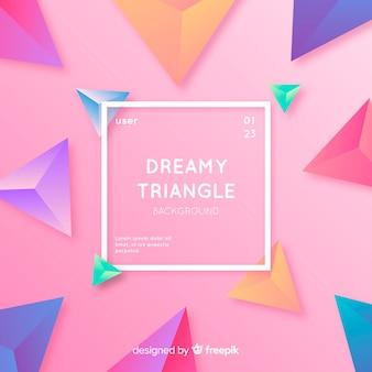 Fundo do triângulo