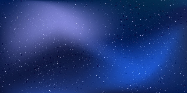 Fundo do universo estelar, poeira estelar no universo profundo, galáxia da via láctea.