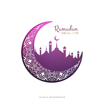 Fundo do vetor de Ramadan