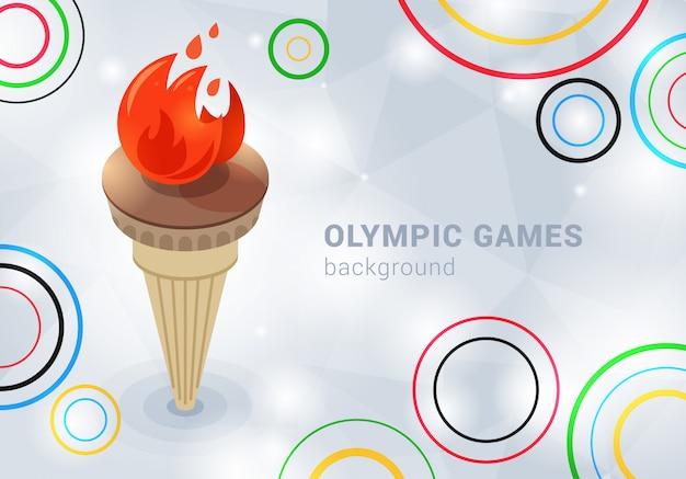 Fundo dos jogos olímpicos