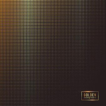 Fundo dourado abstrato.