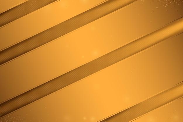 Fundo dourado de luxo com linhas