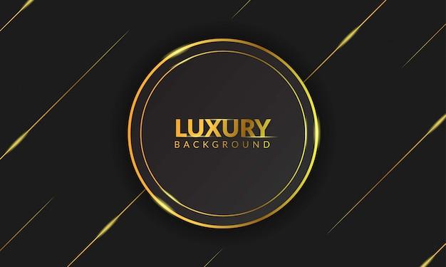 Fundo dourado de luxo com texto