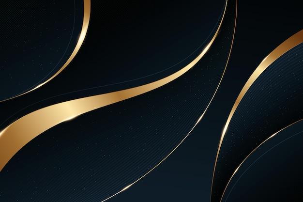 Fundo dourado de luxo