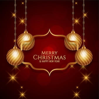 Fundo dourado festivo de feliz natal