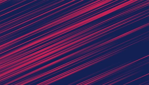 Fundo duotônico abstrato com efeito de linhas de movimento