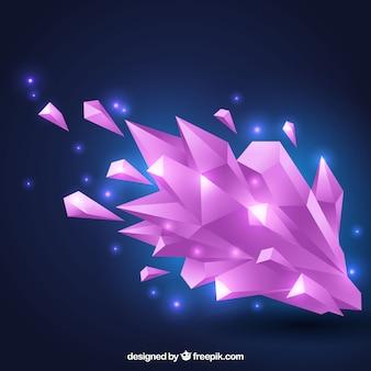 Fundo elegante com desenho geométrico