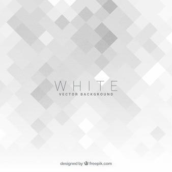 Fundo elegante com geometria branca