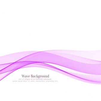 Fundo elegante de onda rosa abstrata