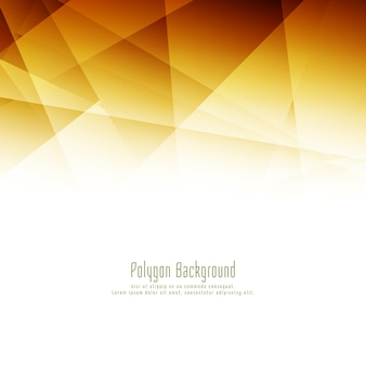 Fundo elegante de polígono brilhante abstrato