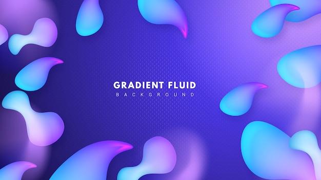 Fundo elegante líquido
