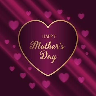 Fundo elegante para o dia das mães