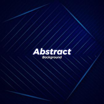 Fundo elegante vector azul abstrato