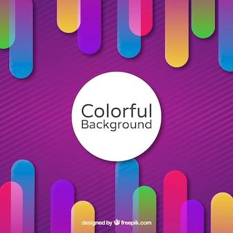 Fundo em várias cores