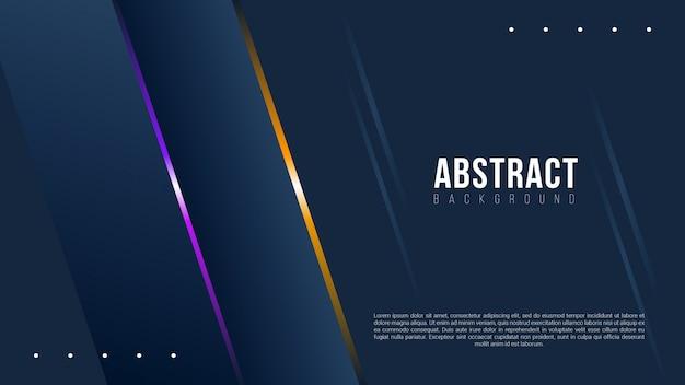 Fundo escuro abstrato com linhas de gradiente
