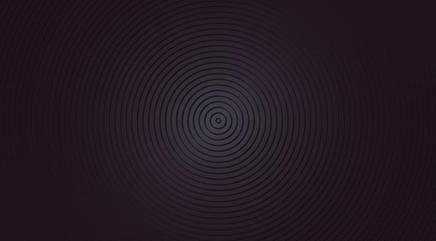 Fundo escuro com círculos