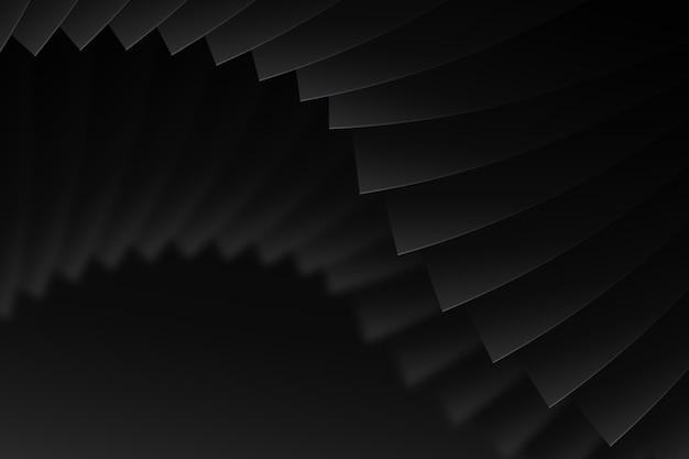 Fundo escuro com formas dinâmicas