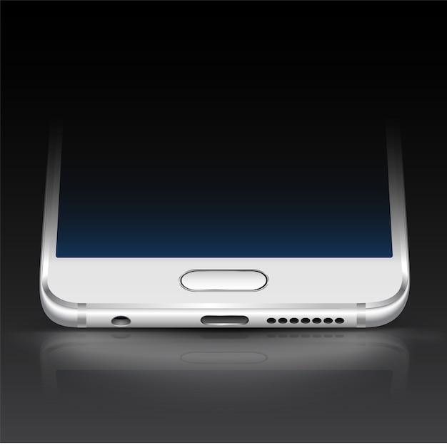 Fundo escuro com fundo de smartphone