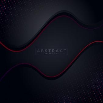 Fundo escuro com fundo vermelho abstrato
