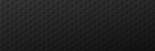 Fundo escuro de rendilhado hexagonal abstração geométrica grade poligonal texturizada em escuro brutal