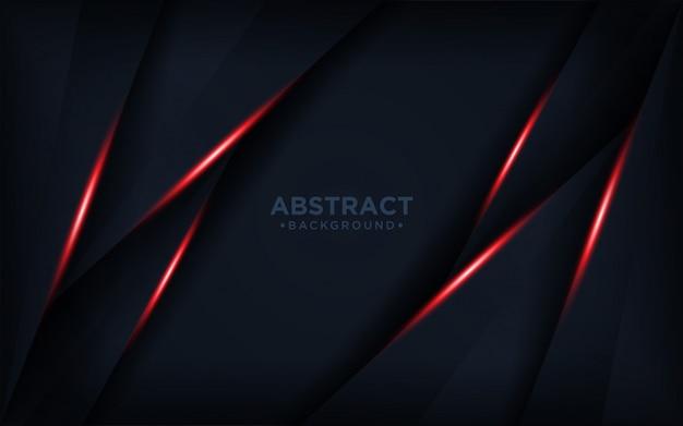 Fundo escuro e vermelho abstrato