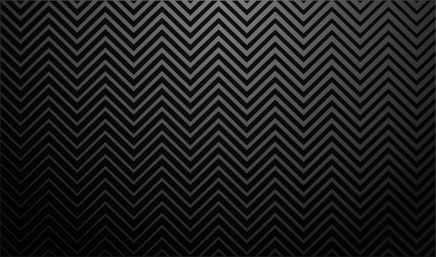 Fundo escuro gradiente com listras em zigue-zague