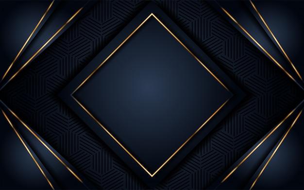 Fundo escuro luxuoso com glitter dourado
