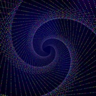 Fundo espiral abstrata.