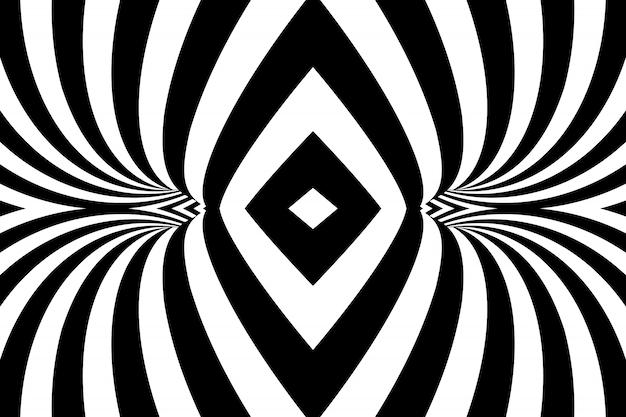 Fundo espiral listrado abstrato