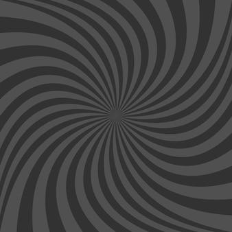 Fundo espiral preto